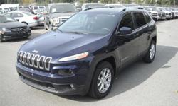 Make Jeep Model Cherokee Year 2015 Colour Blue kms 51827 Price: $23,950 Stock Number: BC0027728 Interior Colour: Black Cylinders: 4 Fuel: Gasoline 2015 Jeep Cherokee Latitude 4WD, 2.4L, 4 cylinder, 4 door, automatic, 4WD, 4-Wheel ABS, cruise control, air