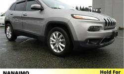 Make Jeep Model Cherokee Year 2015 Colour Silver kms 37862 Trans Automatic Price: $28,995 Stock Number: 9CH4039A VIN: 1C4PJMDS0FW742841 Interior Colour: Black Engine: V6 Fuel: Regular Unleaded No Accidents. Low Kilometers. Remote Start. Rear View Backup