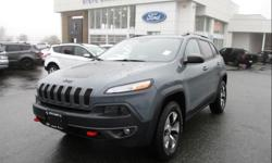 Make Jeep Model Cherokee Year 2015 Colour Anvil Grey kms 58668 Trans Automatic Price: $30,995 Stock Number: 184011 VIN: 1C4PJMBS6FW749960 Interior Colour: Black Leather Engine: 3.2L V6 Cylinder Engine Here is an incredible accident free Jeep Cherokee