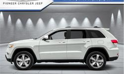Make Jeep Model Grand Cherokee Year 2015 Colour White kms 158965 Trans Automatic Price: $22,998 Stock Number: F2F7109 VIN: 1C4RJFBG1FC687109 Engine: 290HP 3.6L V6 Cylinder Engine Fuel: Gasoline Leather Seats, Bluetooth, Rear View Camera, Heated Seats,