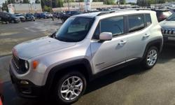 Make Jeep Colour silver Trans Automatic kms 13 The Renegade is an all-new vehicle for the 2015 model year. It is a smart blend of ruggedness and livability that works as well in crowded cities as on muddy roads. It's smaller than everything else in the