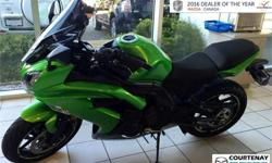 Year 2015 Colour Green Trans Manual kms 3500 Price: $4,999 Stock Number: 16CX53229D *** LIKE NEW ***2015 Kawasaki Ninja 650 ABS with only 3500kms! This beauty is straight out of the showroom with chicken strips on the rear tire so you know it's never been