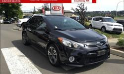Make Kia Model Forte Koup Year 2015 Colour Black kms 33195 Trans Automatic Price: $20,995 Stock Number: SO2733A Interior Colour: Black Engine: I-4 cyl Fuel: Gasoline Local 1 owner sports car - This car was originally bought and has been serviced here at