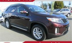 Make Kia Model Sorento Year 2015 Colour Burgundy kms 80069 Trans Automatic Price: $18,995 Stock Number: KT19-02A VIN: 5XYKTDA77FG571264 Interior Colour: Black Cloth Engine: V6 3.3 Litre Fuel: Gasoline Just Arrived! FANTASTIC CONDITION. One Owner. Service