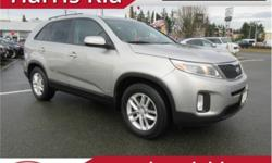 Make Kia Model Sorento Year 2015 Colour Cool Silver kms 107696 Trans Automatic Price: $18,995 Stock Number: KT19-26A VIN: 5XYKTCA69FG607344 Interior Colour: Black Cloth Engine: 4 Cylinder 2.4 Litre Fuel: Gasoline Excellent condition. Good Options. AWD.