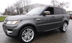Make Land Rover Model Range Rover Sport Year 2015 Colour Gray kms 66143 Trans Automatic Stock #: BC0030721 VIN: SALWR2VF8FA504848 2015 Land Rover Range Rover Sport SE, 3.0L V6 24V DOHC SUPERCHARGED engine, 4 door, automatic, 4WD, 4-Wheel ABS, cruise