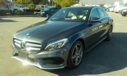 Make Mercedes-Benz Model C-Class Year 2015 Colour Gray kms 62676 Trans Automatic Stock #: BC0030415 VIN: 55SWF4KB2FU085334 2015 Mercedes-Benz C-Class C300 4MATIC Sedan, Premium sport package 2.0L, 4 cylinder, 4 door, automatic, AWD, 4-Wheel AB, cruise