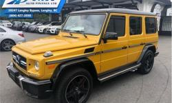 Make Mercedes-Benz Model G-Class Year 2015 Colour Yellow kms 7159 Trans Automatic Price: $128,995 Stock Number: ZA4084 VIN: WDCYC7DF0FX234084 Engine: 536HP 5.5L 8 Cylinder Engine Fuel: Gasoline Low Mileage, Air, Cruise, Tilt, Power Windows, Power Locks!