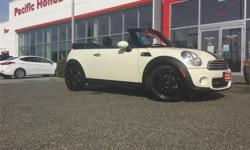 Make MINI Model COOPER Year 2015 Colour White kms 9500 Trans Automatic Price: $24,000 Stock Number: 7369Q Fuel: Gasoline 2015 MINI COOPER CONVERTIBLE WITH FACTORY WARRANTY until May 15, 2019 or 80,000 kms, whichever comes first. All 4 brakes at 90%. All 4
