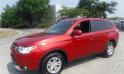 Make Mitsubishi Model Outlander Year 2015 Colour Red kms 86742 Trans Automatic Stock #: BC0030182 VIN: JA4AZ2A35FZ600879 2015 Mitsubishi Outlander ES AWD, 2.4L, 4 cylinder, 5 passenger, 4 door, automatic, 4WD, cruise control, air conditioning, CD player,