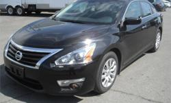 Make Nissan Model Altima Year 2015 Colour Black kms 56700 Price: $14,570 Stock Number: BC0027246 Interior Colour: Black Cylinders: 4 Fuel: Gasoline 2015 Nissan Altima 2.5, 2.5L, 4 cylinder, 4 door, FWD, 4-Wheel ABS, cruise control, air conditioning, CD