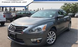 Make Nissan Model Altima Year 2015 Colour Grey kms 54169 Trans Automatic Price: $14,988 Stock Number: A5319 VIN: 1N4AL3AP6FN375319 Engine: 182HP 2.5L 4 Cylinder Engine Fuel: Gasoline Bluetooth, Air Conditioning, Steering Wheel Audio Control, Fog Lights,