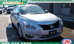 Make Nissan Model Altima Year 2015 Colour Silver kms 51892 Price: $19,995 Stock Number: 6487A Interior Colour: Grey Engine: 2.5L 4 cyls Cylinders: 4 Fuel: Gasoline INTERESTED? TEXT 3062016848 WITH 6487A FOR MORE INFORMATION! $19995 - Reverse camera
