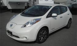 Make Nissan Model Leaf Year 2015 Colour White kms 6414 Price: $22,900 Stock Number: BC0027731 Interior Colour: Black Fuel: Electric 2015 Nissan LEAF SL, ELECTRIC, 4 door, automatic, FWD, 4-Wheel ABS, cruise control, air conditioning, AM/FM radio, CD