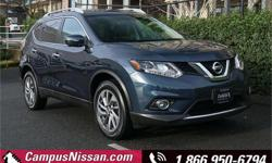 Make Nissan Model Rogue Year 2015 Colour Blue kms 51223 Trans Automatic Price: $24,990 Stock Number: A7390 VIN: 5N1AT2MVXFC847768 Interior Colour: Grey Cylinders: 4 Fuel: Regular Unleaded **NO ACCIDENTS**CAMPUS SERVICED**LOW KM**NAVIGATION**LEATHER** Come