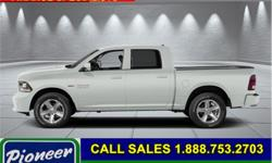 Make Ram Model 1500 Year 2015 Colour White kms 16798 Trans Automatic Price: $30,995 Stock Number: ALT4108 VIN: 1C6RR7TT6FS594108 Engine: 395HP 5.7L 8 Cylinder Engine Fuel: Gasoline Low Mileage, Bluetooth, SiriusXM, Fog Lamps, Aluminum Wheels, Air