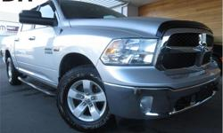 Make Ram Model 1500 Year 2015 Colour Silver kms 58616 Trans Automatic Price: $28,995 Stock Number: CCX1837A VIN: 1C6RR7LT0FS685438 Engine: 5.7L V8 HEMI MDS VVT Fuel: Gasoline Remote Start, Voice Activation, Running Boards, Steering Wheel Controls! This