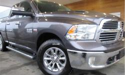 Make Ram Model 1500 Year 2015 kms 56472 Trans Automatic Price: $31,995 Stock Number: CCX1828A VIN: 1C6RR7GT0FS774548 Interior Colour: Grey Engine: 5.7L HEMI VVT V8 w/FuelSaver MDS Fuel: Gasoline Bluetooth, Steering Wheel Controls, Alloy Wheels!