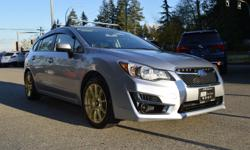 Make Subaru Model Impreza Year 2015 Colour Silver kms 32513 Trans Automatic *NEW YEAR SALE* - $2,000 OFF - LOCAL BC VEHICLE, BALANCE OF FACTORY WARRANTY, FULLY SERVICED & SAFETY INSPECTED. The Subaru Impreza is not only fun-to-drive but also the most