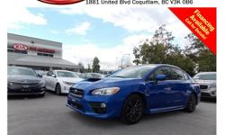Trans Automatic This 2015 Subaru WRX comes with alloy wheels, fog lights, dual exhaust, power locks/windows/mirrors, steering wheel media controls, Bluetooth, A/C, CD player, AM/FM radio, rear defrost and so much more! STK # PP0215 DEALER #31228 Need to
