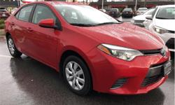 Make Toyota Model Corolla Year 2015 kms 36558 Trans Automatic Price: $16,995 Stock Number: 190077A VIN: 2T1BURHE4FC353423 Engine: I-4 cyl Fuel: Regular Unleaded Full Toyota Service History Local To Victoria With No Accidents...Every Select pre-owned