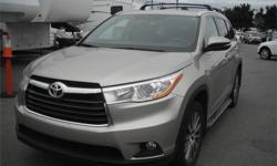 Make Toyota Model Highlander Year 2015 Colour Tan kms 30892 Price: $32,910 Stock Number: BC0027471 Interior Colour: Black Cylinders: 6 Fuel: Gasoline 2015 Toyota Highlander XLE AWD V6, 3.5L, 6 cylinder, 4 door, automatic, AWD, 4-Wheel ABS, cruise control,