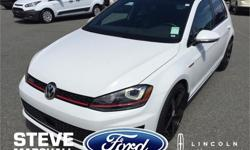Make Volkswagen Model Golf GTI Year 2015 kms 16958 Price: $33,995 Stock Number: 164861 Engine: 4 Cylinder Engine Fully loaded GTI performance! Sunroof, Fender stereo system, leather seats, low profile tires and only one previous owner. You need to drive