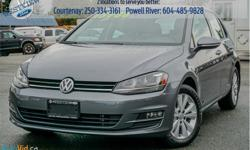 Make Volkswagen Model Golf Year 2015 Colour Grey kms 20602 Trans Manual Price: $15,988 Stock Number: 18407A VIN: 3VW117AU6FM022065 Engine: 170HP 1.8L 4 Cylinder Engine Cylinders: 4 Fuel: Gasoline Low Mileage! Check out our large selection of pre-owned