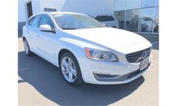 Make Volvo Model V60 Year 2015 Colour White kms 63500 Trans Automatic Price: $30,990 Stock Number: d-86920 VIN: YV1612SL2F1263355 Interior Colour: Charcoal Engine: I-5 cyl Fuel: Gasoline blowout deal on this wagon!! was $34990 now only $30990. don't miss