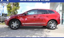 Make Volvo Model XC60 Year 2015 Colour Red kms 26000 Trans Automatic IIHS TOP SAFETY PICK + Ensure your family is protected with the safest SUV on the road - accept nothing less. Enjoy the rush of 300hp with this T6 model that offers AWD grip and Volvo's