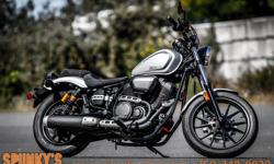 """Just reduced to $7599...was $9399!! Plus fees and taxes Net of all promotions Financing available Stk #1537 Dealer # 10826 2015 Yamaha Bolt R-Spec CONQUER ROAD A new trend is emerging in the motorcycle world, with a """"back to basics"""" approach. Designers"""