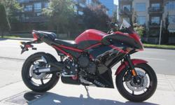 2015 Yamaha FZ6R. **ONE ONLY!** $7599 The FZ6R has a special ambience that makes you feel comfortable the minute you swing a leg over the seat. It is a sports bike that does not make any earth shattering claims; just a bike that will leave you smiling