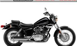 Authentic V-twin power plant, which means that you're getting full-sized rumble and styling in an easy to ride, lightweight bike. Smooth-shifting, 5-speed transmission provides versatile performance. Clutch lever pull is very light and novice friendly.