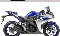 2015 Yamaha YZF-R3 * It's time to ride. Get your R3 now ! * $4799 Perfect for the entry-level rider or anyone looking for a light weight, sporty bike for everyday riding. Colour: Blue. Buy with confidence from a Genuine Yamaha Dealership.