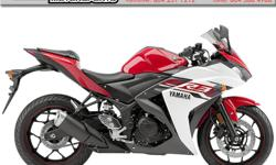 2015 Yamaha YZF-R3 * It's time to ride. Get your R3 now ! * $4799 Perfect for the entry-level rider or anyone looking for a light weight, sporty bike for everyday riding. Colour: Red. Buy with confidence from a Genuine Yamaha Dealership.
