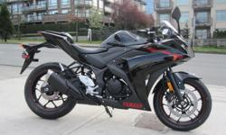 2015 Yamaha YZF-R3 Motorcycle - $4,699 $4,699 entry price!! Yamaha has raised the bar in the entry sports class with the exciting new YZF-R3. Sporting a new twin cylinder 320 cc engine and an all new chassis, the Yamaha R3 offers a solid combination of