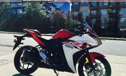 2015 Yamaha YZF-R3 Sport Motorcycle * SALE !!! * $4099 Perfect for the entry-level rider or anyone looking for a light weight, sporty bike for everyday riding. Colour: Red. Buy with confidence from a Genuine Yamaha Dealership. ContactPatrick or Dave