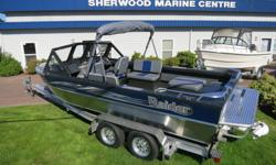PRICED TO SELL! PACKAGE INCLUDES 5000lb Tuff Aluminum Trailer & Kodiak 320HP motor. Included Factory Options: heater/defroster, sand trap, stomp gate, washdown pump system, extra wiper, deluxe top canvas, top boot, vinyl sides, carpet side walls Standard