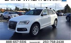 Make Audi Model Q5 Year 2016 kms 45801 Trans Automatic Price: $37,700 Stock Number: 108633 VIN: WA1L2AFP5GA142862 Engine: Intercooled Turbo Premium Unleaded I-4 2.0 L/121 Cylinders: 4 Fuel: Gasoline IIHS Top Safety Pick+. This Audi Q5 delivers a