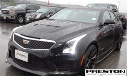 Make Cadillac Model ATS Year 2016 Colour GBA Black kms 11430 Trans Automatic Price: $47,995 Stock Number: 8025851 VIN: 1G6AN5SYXG0171759 Interior Colour: Black Local, clean accident free history on car proof, sold and serviced at Preston GM, extra clean