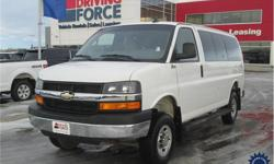 Make Chevrolet Model Express Passenger Year 2016 Colour White kms 30687 Trans Automatic Price: $56,998 Stock Number: 129808 VIN: 1GAWGFFG4G1258015 Interior Colour: Black Cylinders: 8 - Cyl Fuel: Gasoline This 2016 Chevrolet Express 2500 LT 12 Passenger