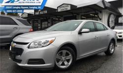 Make Chevrolet Model Malibu Year 2016 Colour Silver kms 62261 Trans Automatic Price: $12,900 Stock Number: ZAC6235 VIN: 1G11C5SA0GU136235 Engine: 2.5L 4 Cylinder Engine Fuel: Gasoline Touch Screen, Bluetooth, Cruise Control, SiriusXM, Remote Keyless