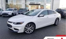 Make Chevrolet Model Malibu Year 2016 kms 27920 Trans Automatic Price: $26,995 Stock Number: TCP5068A VIN: 1G1ZH5SX5GF340560 Engine: 250HP 2.0L 4 Cylinder Engine Fuel: Gasoline Low Mileage, Navigation, Leather Seats, Cooled Seats, Bluetooth, Heated