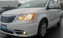 Make Chrysler Model Town & Country Year 2016 Colour White kms 73128 Trans Automatic Price: $18,627 Stock Number: CP2145 VIN: 2C4RC1BG2GR302145 Interior Colour: Black Engine: 3.6L V6 Engine Configuration: V-shape Cylinders: 6 Fuel: Flex Fuel KBB.com Brand