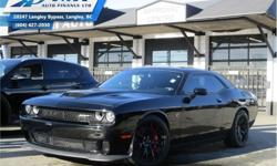 Make Dodge Model Challenger Year 2016 Colour Black kms 11498 Trans Automatic Price: $62,990 Stock Number: ZA5590A VIN: 2C3CDZC91GH353034 Interior Colour: Black Engine: 707HP 6.2L 8 Cylinder Engine Fuel: Gasoline Low Mileage! Check out our large selection