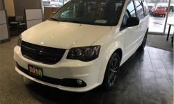 Make Dodge Model Grand Caravan Year 2016 Colour White kms 28402 Trans Automatic Price: $22,500 Stock Number: 19059A VIN: 2C4RDGBG6GR394702 Interior Colour: Black Engine: 3.6L Pentastar VVT V6 DVD player. Backup camera. Satellite radio. Touchscreen