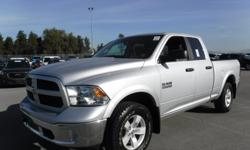 Make Dodge Model Ram 1500 Year 2016 Colour Gray kms 27713 Trans Automatic Stock #: BC0030515 VIN: 1C6RR7GG0GS216400 2016 RAM 1500 Outdoorsman Quad Cab 4WD, 3.6L, 6 cylinders, automatic, 4WD, 4-Wheel ABS, cruise control, AM/FM radio, back-up camera,