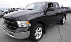 Model 1500 Year 2016 Colour Black Trans Automatic kms 42899 Stock #: BC0030492 VIN: 1C6RR7LTXGS109132 2016 Dodge RAM 1500 SLT Crew Cab Short Box 4WD, 5.7L, 8 cylinder, 4 door, automatic, 4WD, 4-Wheel AB, cruise control, air conditioning, AM/FM radio, CD