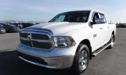 Model 1500 Year 2016 Colour White Trans Automatic kms 30525 Stock #: BC0030514 VIN: 1C6RR7LG8GS253071 2016 Dodge RAM 1500 SLT Crew Cab Short Box 4WD, 3.6L, 6 cylinder, 4 door, automatic, 4WD, 4-Wheel ABS, cruise control, air-conditioning, AM/FM radio,