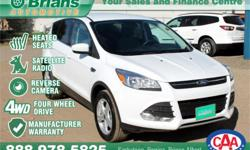 Make Ford Model Escape Year 2016 Colour White kms 39788 Trans Automatic Price: $27,994 Stock Number: 7082A Engine: 1.6L 4 cyls Cylinders: 4 Fuel: Gasoline FREE WARRANTY 100PT INSPECTION ADDITIONAL WARRANTY AVAILABLE. $27994 - 2016 Ford Escape SE -